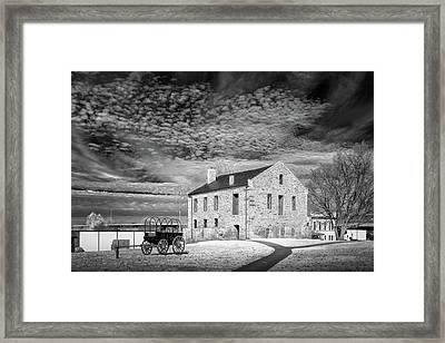 Framed Print featuring the photograph Fort Smith Historic Site by James Barber