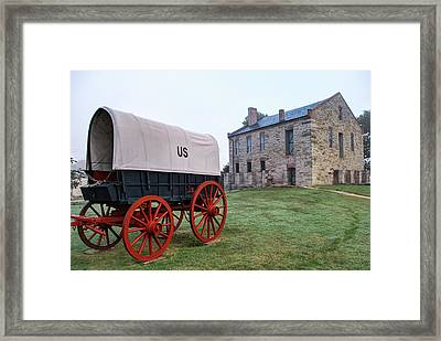 Fort Smith National Historic Site - Arkansas Framed Print