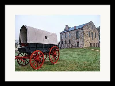 Fort Smith Arkansas Framed Prints