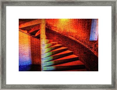 Fort Staircase Framed Print