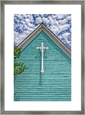 Fort Stockton Church Framed Print