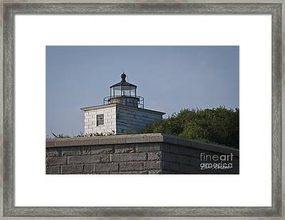 Fort Taber Lighthouse Framed Print by David Gordon