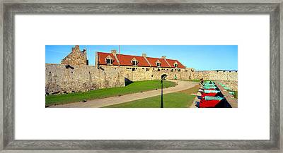 Fort Ticonderoga, Lake Champlain, New Framed Print by Panoramic Images