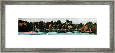 Fort Toulouse Coosa River Framed Print by Beth Parrish