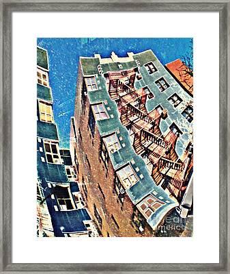Fort Washington Avenue Building Framed Print