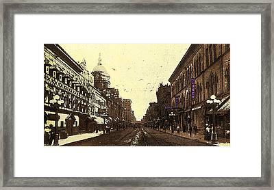 Fort Wayne Indiana 1913 Framed Print