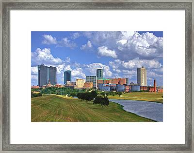 Fort Worth #1 Framed Print