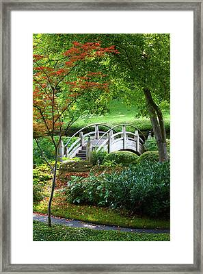 Fort Worth Botanic Garden Framed Print by Joan Carroll