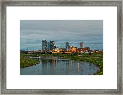 Fort Worth Color Framed Print