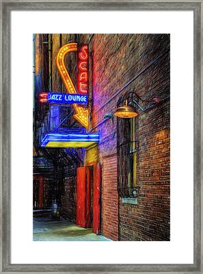 Fort Worth Impressions Scat Lounge Framed Print