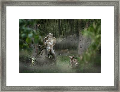 Fortbidden Path Framed Print by Marc Huebner