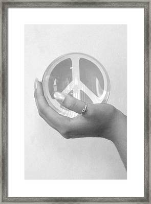 Fortelling A Future Framed Print by Elizabeth Reynders