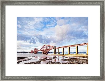 Forth Rail Bridge Framed Print by Colin and Linda McKie