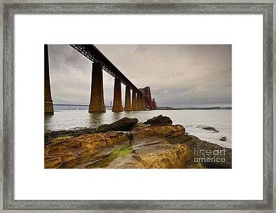 Forth Rail Bridge Framed Print by Nichola Denny