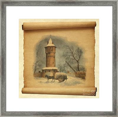 Fortress Tower Framed Print