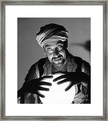 Fortune Teller, C.1970s Framed Print by D. Corson/ClassicStock