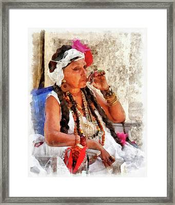 Fortune Teller Framed Print by Dawn Currie