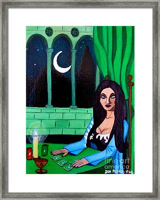 Framed Print featuring the painting Fortune Teller by Don Pedro De Gracia