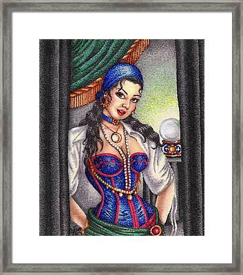 Fortune Teller Framed Print by Scarlett Royal