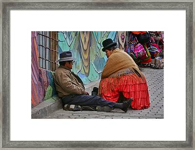 Fortune Teller Framed Print by Skip Hunt