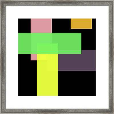 Forty -bar- Framed Print by Coded Images