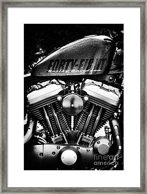 Forty Eight Framed Print by Tim Gainey