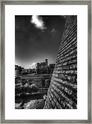 Forum View Framed Print by Brian Thomson