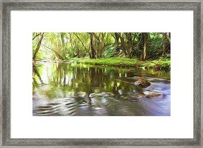 Forward Motion II Framed Print