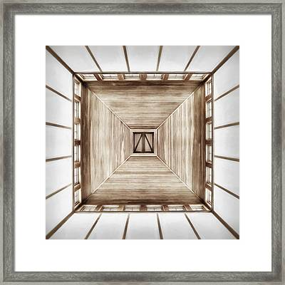 Forward Or Up Framed Print by Scott Norris