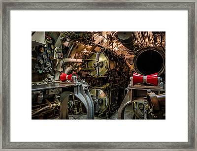 Forward Torpedo Room Framed Print by James Barber