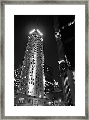 Framed Print featuring the photograph Foshay Tower, Minneapolis by Jim Hughes