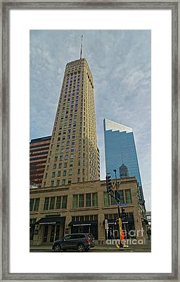 Foshay Tower Framed Print by Natural Focal Point Photography