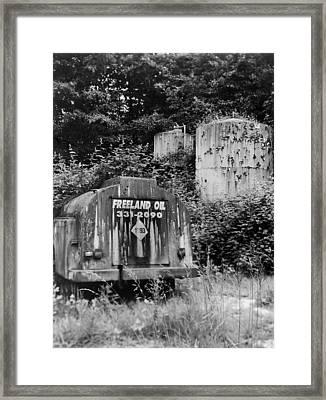 Fossil Fuels Framed Print by Jim Furrer