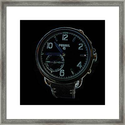 Fossil Q 3 Framed Print by Bruce Iorio