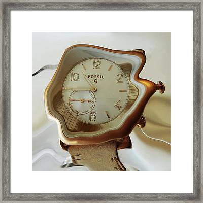 Fossil Q Framed Print by Bruce Iorio