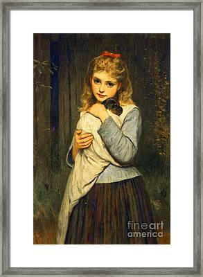 Foster Mother  Framed Print by MotionAge Designs