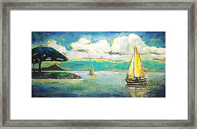 Foster's Point Framed Print
