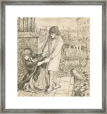 Found - Compositional Study Framed Print