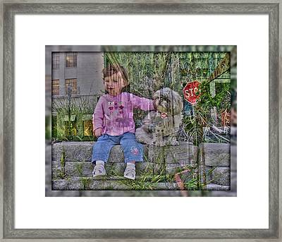 Framed Print featuring the photograph Foundation by Nick David
