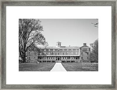 Haverford College Founders Hall  Framed Print by University Icons