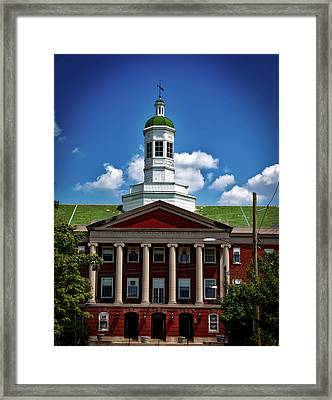 Founders Library Framed Print by Mountain Dreams