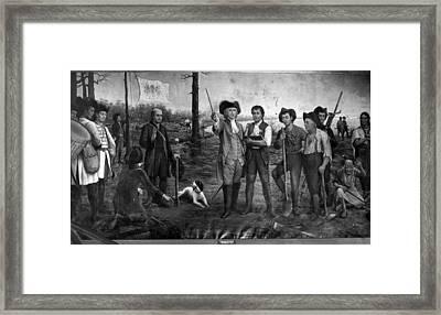 Founding Of New Orleans Framed Print