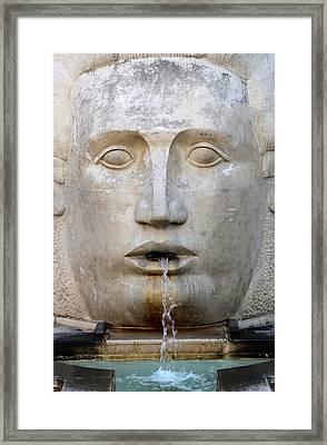 Fountain 1 Framed Print
