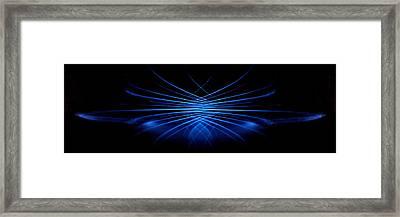 Framed Print featuring the photograph Fountain Bleu by David Dunham