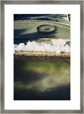 Fountain Closeup Framed Print by Pati Photography