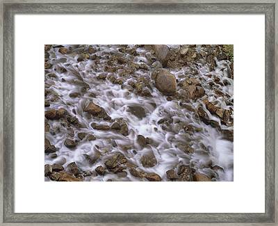 Fountain Creek Up Close  Framed Print