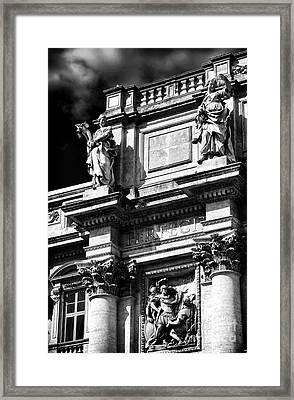 Fountain Design Framed Print by John Rizzuto