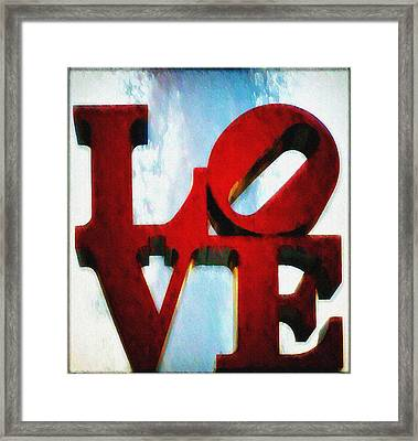 Fountain Of Love  Framed Print
