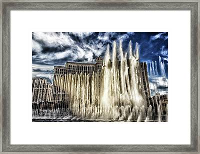 Framed Print featuring the photograph Fountain Of Love by Michael Rogers