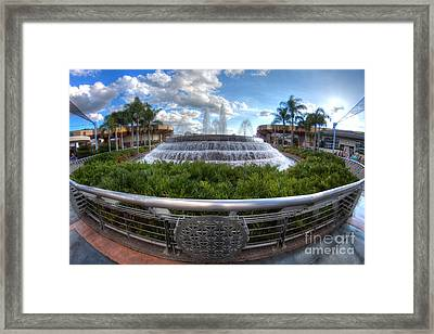 Fountain Of Nations Framed Print